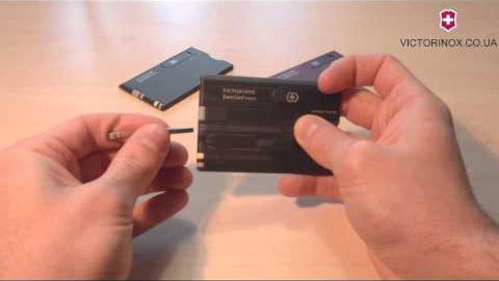 Швейцарский складной нож Victorinox Swisscard 0.7133 - обзор ножей Викторинокс