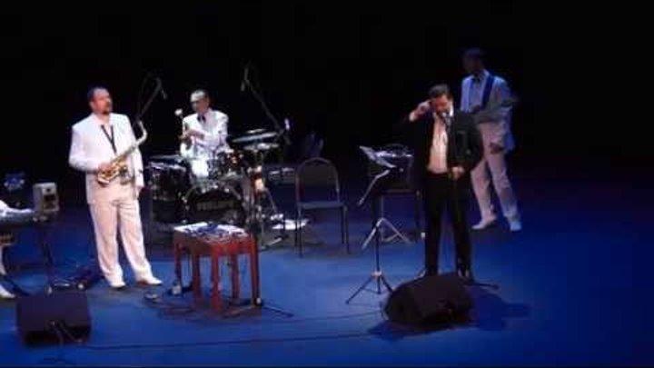 Дмитрий Дарин читает Есенина на открытии концерта гр.FEELIN'S (Есенин Jazz),Дом музыки,12.10.15