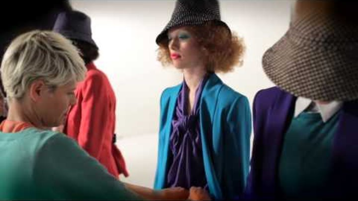 United Colors of Benetton S/S 2012 Woman and Man Campaign Backstage