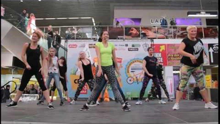 Zumba фитнес видео, зумба танец для похудения!