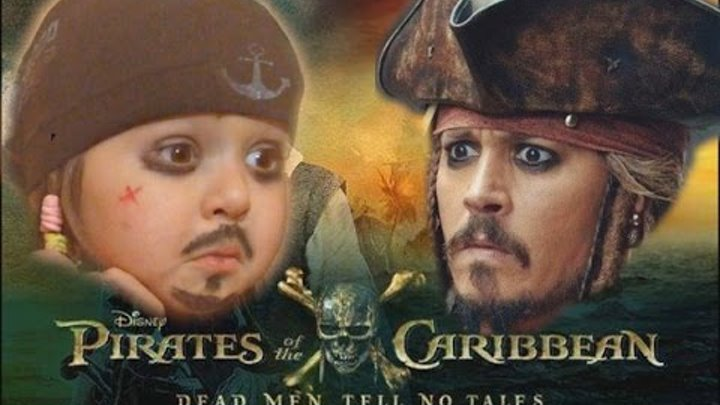 ДЖЕК ВОРОБЕЙ В ДЕТСТВЕ Jack Sparrow in childhood 2017 Pirates of the Caribbean 5