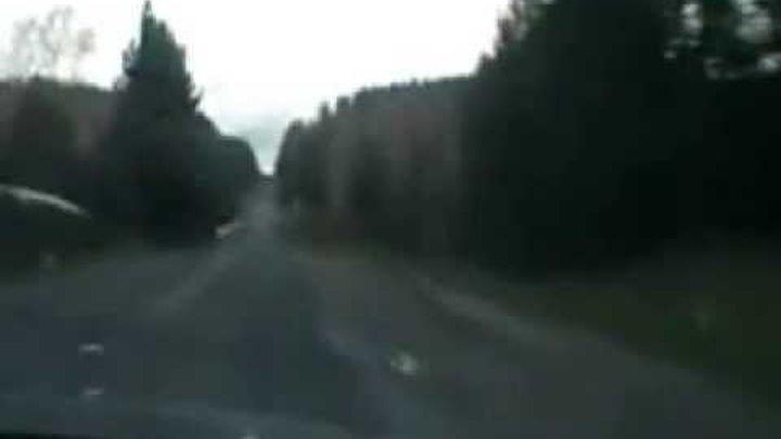 дорога в Красноярск - 66 ныне поселок Кедровый.avi