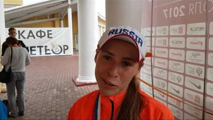 Анастасия Калина и Елена Мурашова - призёры Чемпионата России-2017 в беге на 1500 м