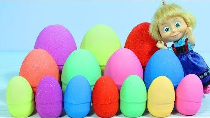 Маша и Сюрпризы Учим цвета с Машей Игрушки и мультиков Доктор Плюшева Маша и Медведь Фиксики