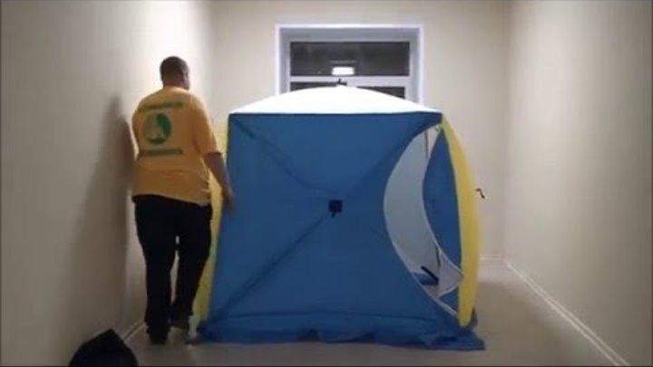 Зимняя палатка СТЭК Куб 2 трехслойная