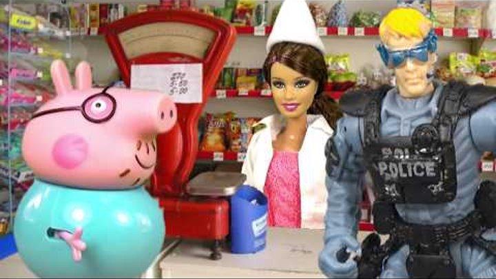 Свинка Пеппа Мультики для Детей ПАПА СВИН в ТЮРЬМЕ Новые Серии 2016 Играем вместе Peppa Pig
