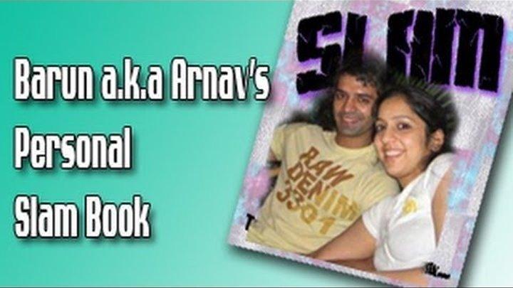 Arnav aka Barun Sobti's PERSONAL SLAM BOOK for FANS PART 2 of Iss Pyaar Ko Kya Naam Doon