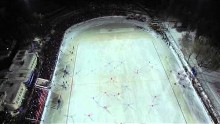 РОССИЯ - США. Хоккей с мячом. г. Димитровград 04.02.2016