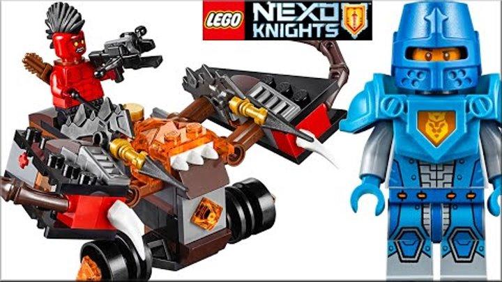 LEGO Nexo Knights 70318 Шаровая ракета Обзор. Лего Нексо Найтс мультик - кто такой Чёрный Рыцарь