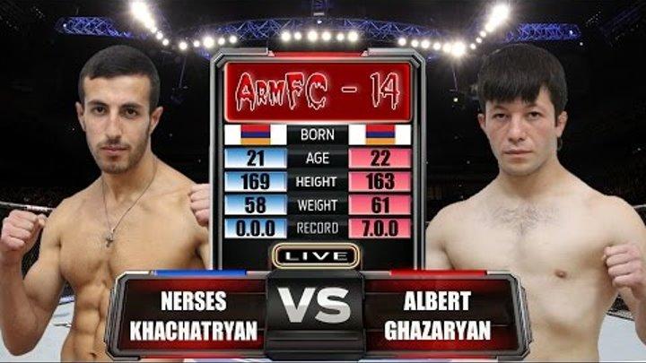 ArmFC-14.Nerses Khachatryan vs Albert Ghazaryan HD