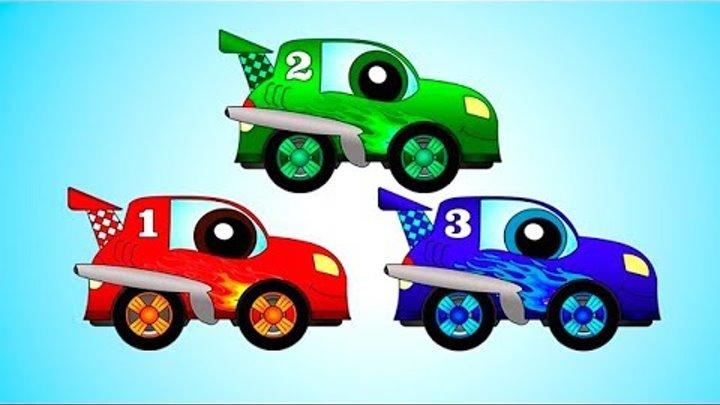 Мультики для самых маленьких - Гонки машин - Машинки для мальчиков