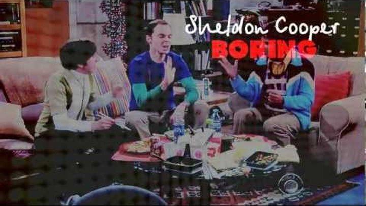 sheldon cooper • boring