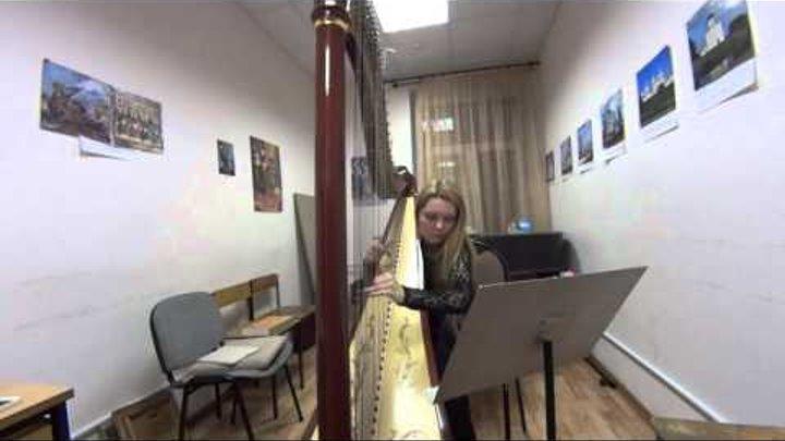 Арфа - Disney - Гравити Фолз англ Gravity Falls - Harp cover (кавер)