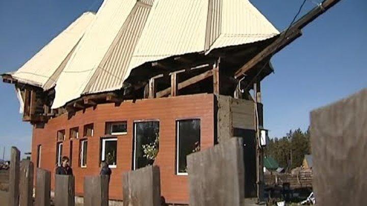 Бывший моряк из Курагинского района построил дом в виде корабля