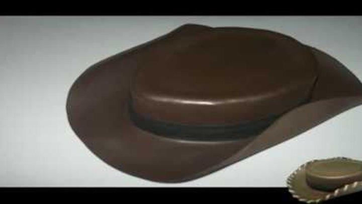1f344ab49d7bb Sombrero vaquero en foami para disfraz halloween de Woody Toy Story Disney  Pixar Fofuchas en foami