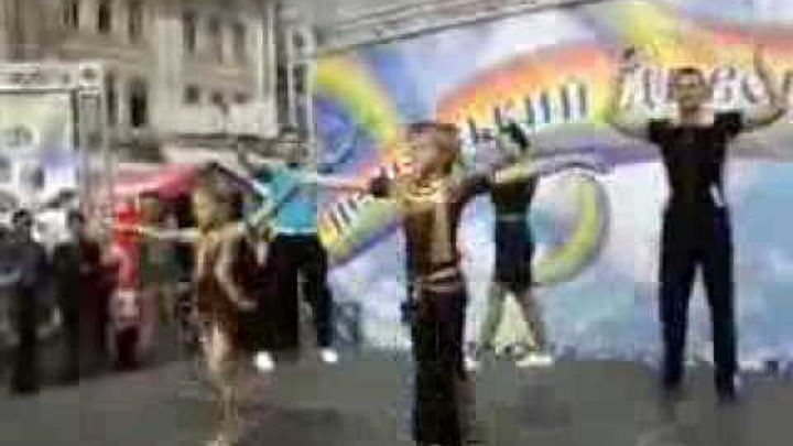 Шикарный танец в стиле рок-н-ролл и буги-вуги к 1 сентября