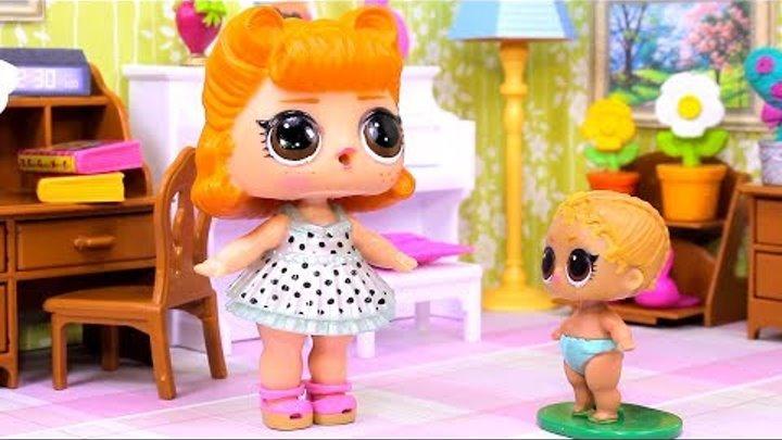 Куклы ЛОЛ СМЕШНЫЕ ВИДЕО 11 Мультики #Игрушки Сюрпризы LOL Видео для Детей с Лалалупси Вероника