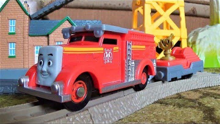 паровозик Томас и его друзья - железная дорога машинки и поезда - игрушки для мальчиков