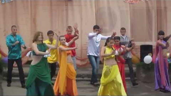 Индийский танец на последнем звонке 2013