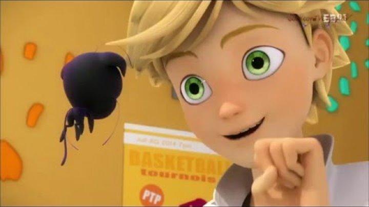 Miraculous: Ladybug and Cat Noir    Леди Баг и Супер-кот 25 серия Рождение Леди Баг озвучка