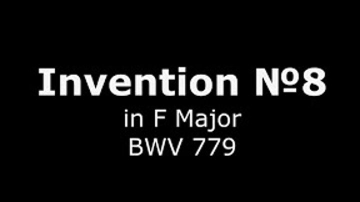 J.S.Bach - Invention №8 (in F Major, BWV 779)/Sergey Neverov (bayan)