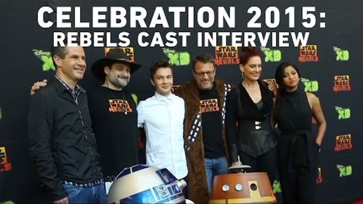 Star Wars Rebels Season 2 Premiere: Cast Interview with StarWars.com | Star Wars Celebration Anaheim