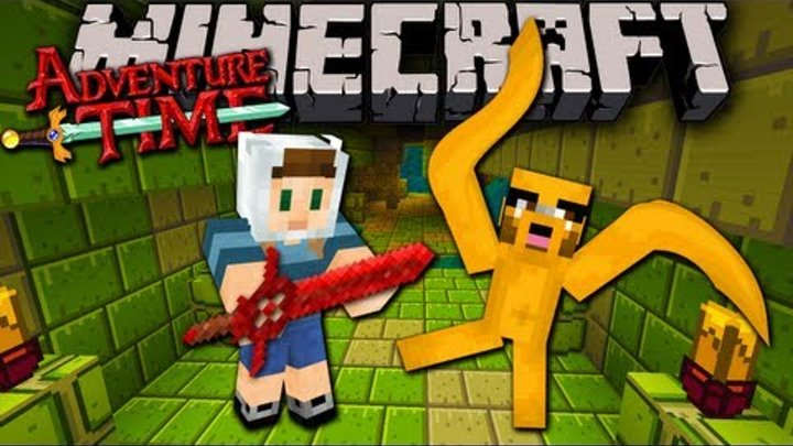 Minecraft: Adventure Time with Jake! The Lost Potato - Ep. 4 - Dungeon Diving