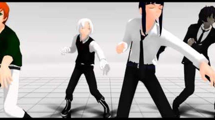 [MMD] Bad Apple Break Dance D.GRAY-MAN!