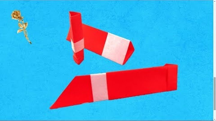Origami facile : Rouge à lèvres (Fumiaki Shingu)