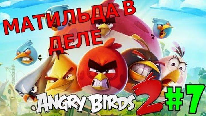 ANGRY BIRDS 2 #7 Мультик про птичек Злые Птички Новые серии Для детей ЭНГРИ БЕРДС