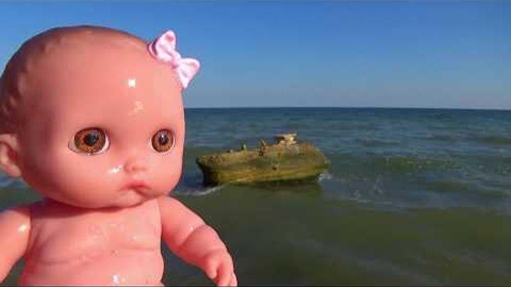Куклы Пупсики беби Динозавры нашли брошенного малыша мультик с куклами новые серии для детей