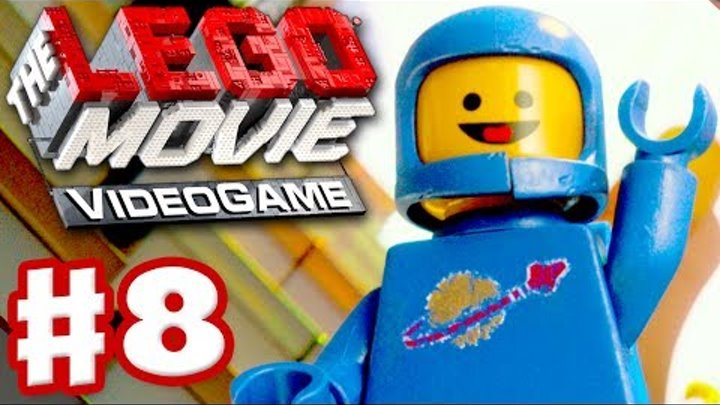The LEGO Movie Videogame - Gameplay Walkthrough Part 8 - Spaceman Benny (PC, Xbox One, PS4, Wii U)