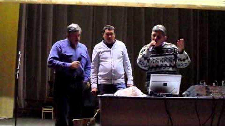 "На репетиции ВИА ""Офицеры запаса"" Саратов... 4.01.2015"