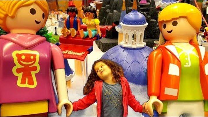 Питер Пэн, Капитан Крюк и Фея Динь Динь из Playmobil! Огромная выставка целый мир из фигурок! Влог