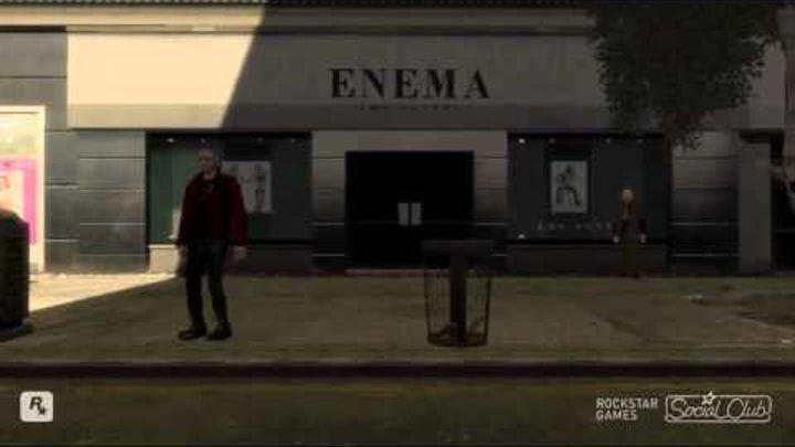 GTA 4 - эпичные приколы