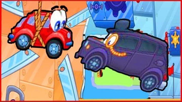 Вилли Wheely Мультик мультфильм игра для детей малышей про красную машинку часть 3