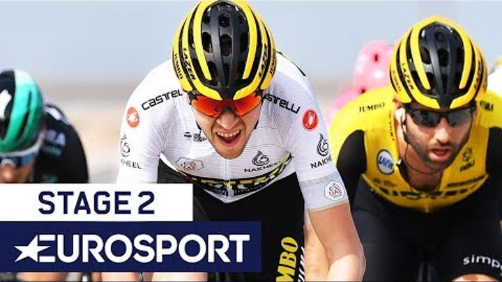 UAE Tour 2019 | Stage 2 Highlights | Cycling | Eurosport