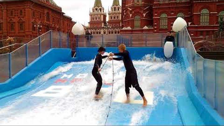 Вейк парк на Красной площади Лови волну в самом центре Москвы Флоурайдинг