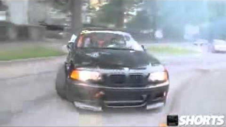 BMW E 46 M drift rejsing