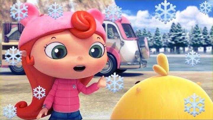 Мультики - Дуда и Дада - Зимний сборник! Все серии про зиму и Новый год для детей