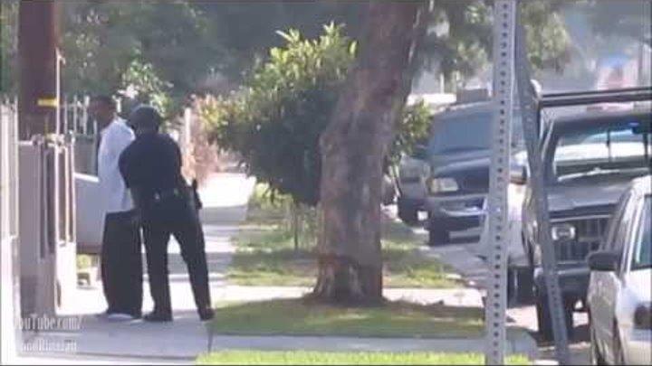 Задержание членов мексиканкой банды | 2/4 | Лос-Анджелес