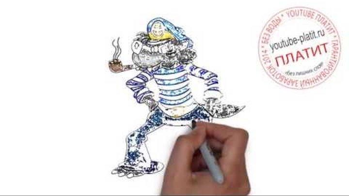 Ну погоди картинки волк Как правильно рисовать Ну погоди карандашом