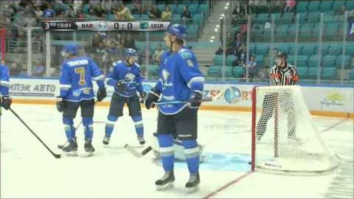 Барыс - Югра 1:2 / Кубок Президента Республики Казахстан