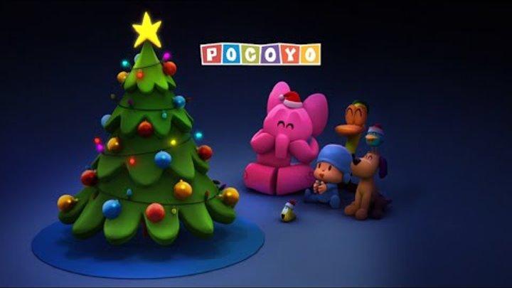 Покойо на русском языке - Наряжаем ёлку! - Мультики про Новый год