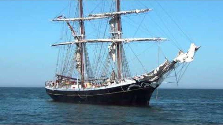 Tall Ships Races 2013 - Arrival in Szczecin, Poland
