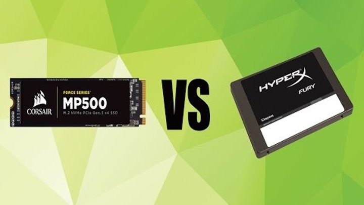 MP500 M.2 SSD 120GB VS HyperX Fury SATA3 SSD 120GB