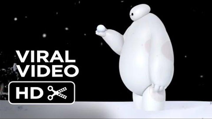Big Hero 6 VIRAL VIDEO - Baymax vs. Snowball (2014) - Disney Animation Movie HD