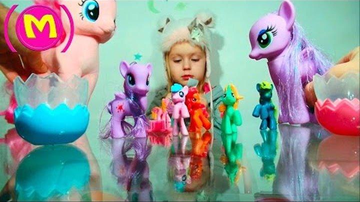 Ⓜ Пони Новые подружки История игрушек Май Литл Пони MLP My Little Pony Коллекция игрушек Ⓜ
