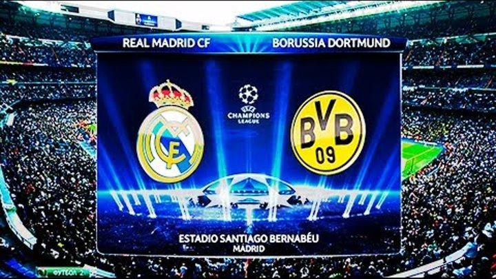 Футбол. Реал х Боруссия (Дортмунд). Лига Чемпионов 2017-2018