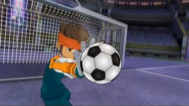 Inazuma Eleven Strikers 2012 Xtreme - Match with Team Zero (perfect defense)